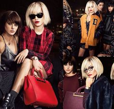 Rita Ora steps it up a notch, as she models the Fall '14 DKNY collection