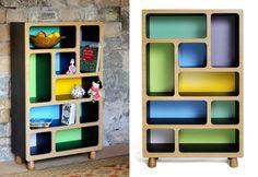 coucou manou :: boulder display units #furniture #children #colors #e_glue