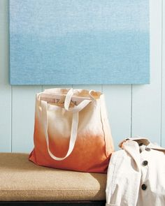 Ombre Tote Bag {Martha Stewart Crafts™} #fashion #diy