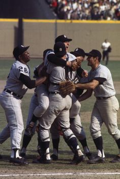 1968 World Series.  Moved from Detroit to Seattle in 62.  Watch this on TV, standing, yelling thru the whole game!