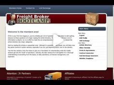 How To Become A Freight Broker - Freight Broker Boot Camp - YouTube