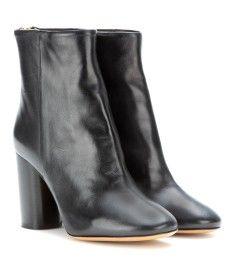 Isabel Marant - Alona leather ankle boots - mytheresa.com GmbH