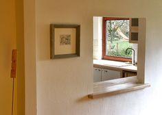 eßbereich mit durchreiche küche | wanddurchbruch | pinterest - Durchreiche Kuche Wohnzimmer Modern