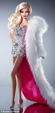 Mattel's first Drag Queen Barbie!! Beautiful!