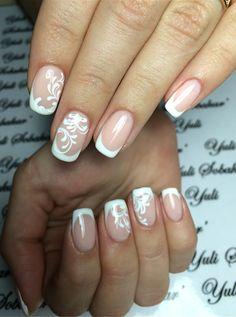 Ногти для невесты