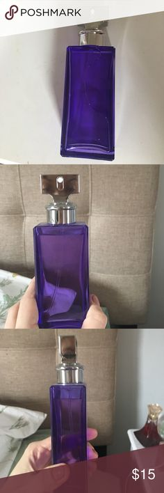 Eternity Purple Orchid by Calvin Klein perfume 99% of perfume left, I only used a few sprays. Beautiful light floral scent perfect for work to night. It was a gift and I already have tons of perfume somam selling it here. Calvin Klein Makeup Foundation