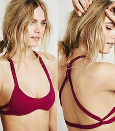 12 Bras With Ridiculously Pretty Backs via @WhoWhatWear