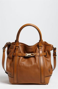 Burberry Leather Tote available at Nordstrom -- or in my dreams!