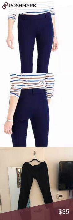 Blue Skirt Black Blouse Sheer Black Pantyhose and Black High Heels ...