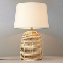 Buy John Lewis Belle Light Bamboo Table Lamp Online at johnlewis.com