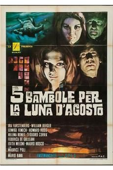 5 Dolls for an August Moon (1970) 1080p download