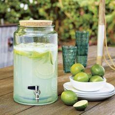 glass drink dispenser by BigDieZel