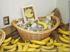 Funny Banana Breakfast for Teachers. Cute idea for Teacher appreciation week. (Student Council)