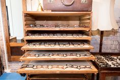 'The Hipster Opticians' by Bailey Nelson,Australia, shop display case,pinned by Ton van der Veer