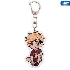 Volleyball boy Key Chain Ring Anime Haikyuu!! Keyring Cute Cartoon Keychain sleutelhanger 2020 New  Keychain Accessories - H07