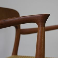 Niels. O Moeller Dining Chairs with Papercord