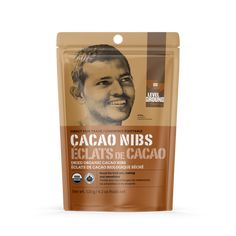 Level Ground Organic Cacao Nibs - 120g Cacao Nibs, Dried Fruit, Vegan Baking, Superfood, New Product, Cocoa, Organic, Pure Products, Theobroma Cacao