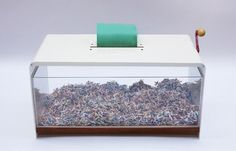 coffee table shredder