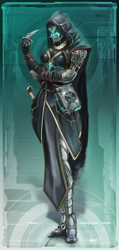 EotV Character 16 by Keleus on DeviantArt Fantasy Character Design, Character Concept, Character Inspiration, Character Art, Concept Art, Dungeons And Dragons Characters, Sci Fi Characters, Fantasy Races, Fantasy Warrior