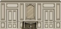 French style doors - Design by Agrell Architectural Carving