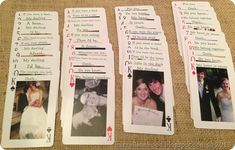 Personalized Playing Cards for anniversary