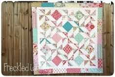 Riley Blake Designs -- Cutting Corners: Recent Blog Articles - pocketful of pinwheels quilt tutorial and pattern