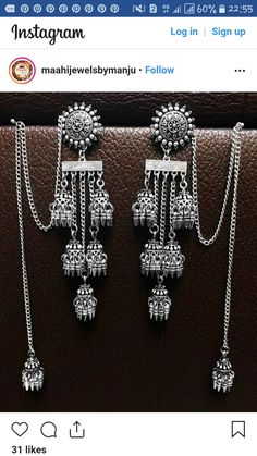 Silver Ring With Stone Indian Bridal Jewelry Sets, Indian Jewelry Earrings, Silver Jewellery Indian, Jewelry Design Earrings, Ear Jewelry, Silver Jewelry, Silver Ring, Jewelry Bracelets, Bangles