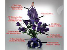 quinceanera chair for sale | Centros de Mesa para Quinceanera - Quinceanera Centerpieces - QCC-074