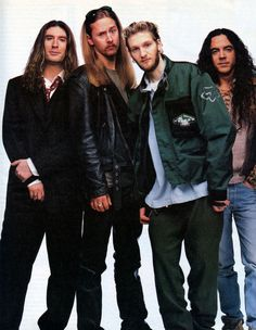 Alice in Chains, Rolling Stone, 1996.    Photo: Mark Seliger