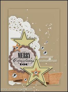 #SU Christmas Stars and Doily