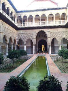 Patio de las Doncellas, Reales Alcázares