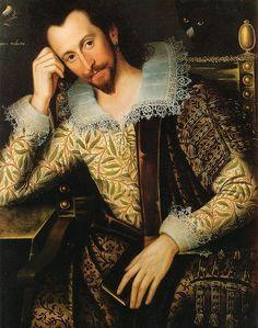 Portrait of Peter Saltonstall (wearing crewel work) 1610, unknown artist.