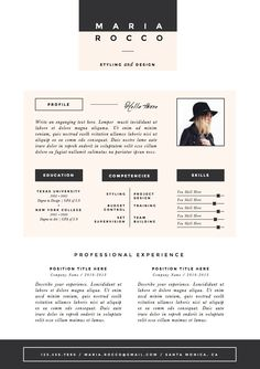3pk resume cv template cover letter for door theresumeboutique - Cover Letter Resume Template