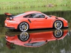 2016/16 PORSCHE 911 GT3 RS (991) LAVA ORANGE WITH BLACK & LAVA ORANGE