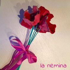 Fiori per la Festa della Mamma - Mother's day craft for kids