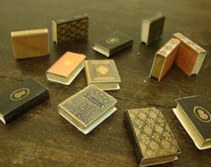 dollhouse ,miniature book. package of assorted books. 10 pcs
