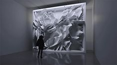Melting Memories: A Data-Driven Installation that Shows the Brain's Inner Workings | Colossal