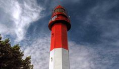 Naissaare Lighthouse (Estonian: Naissaare Tuletorn) - a lighthouse located on the island of Naissaar (in the Gulf of Finland), Viimsi Parish, in Harju County; i... Get more information about the Naissaare Lighthouse on Hostelman.com #attraction #Estonia #landmark #travel #destinations #tips #packing #ideas #budget #trips #lighthouse