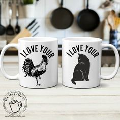 Funny Valentines Mug Set for Couples Gift I love Your Cock & Pussy Mugs Inappropriate Gift Gag Gift For Men Naughty Gift for Couples Mug Set Couples Coffee Mugs, Couple Mugs, Funny Coffee Mugs, Couple Gifts, Diy Christmas Gifts For Men, Gag Gifts For Men, Mugs For Men, Best Gifts, Man Gifts