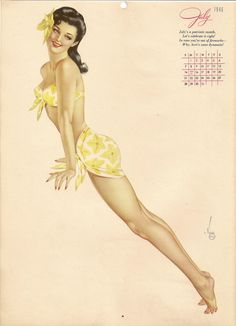 Vargas Girls Pin UPS | ... Page Esquire Varga PIN UP Phil Stack pinup girl Vargas girl patriotic