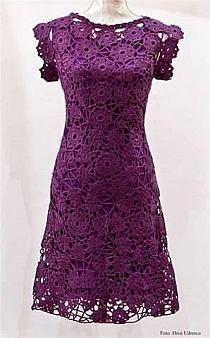 Fab crochet dress its giving me great ideas x