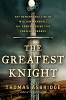 Jim found this biography based partly on an old manuscript called, A History of William Marshal an intersting read. Marshal rose from obscurity to the heights of power in 11th & 12th century England.
