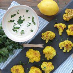 Μπουκίτσες κουνουπιδιού με σως γιαουρτιού #paxxigr #συνταγές #σνακ #κουνουπίδι #γιαούρτι #υγιεινό #διατροφή #βίντεο