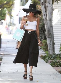 23 Times Vanessa Hudgens Dressed Better Than Everyone | Rocking Culottes Like No Other