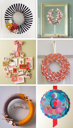 I've wanted to make a wreath forever. Maybe this will be the year to do it?