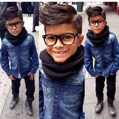 Boys fashion...love the haircut