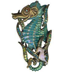 Kirks Folly Southsea Sea Horse Pin