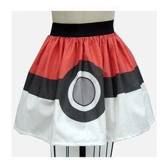 Eight Geektastic Skirts ❤ liked on Polyvore