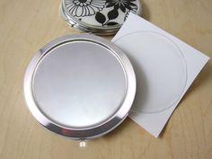 DIY Sada kov.zrcátko s lůžkem 57mm+ EPOXY