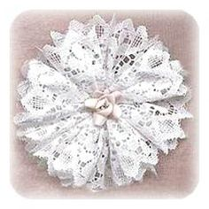 DIY Handmade Lace Victorian Style Christmas Ornament Tutorials